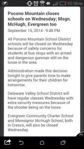 school notices